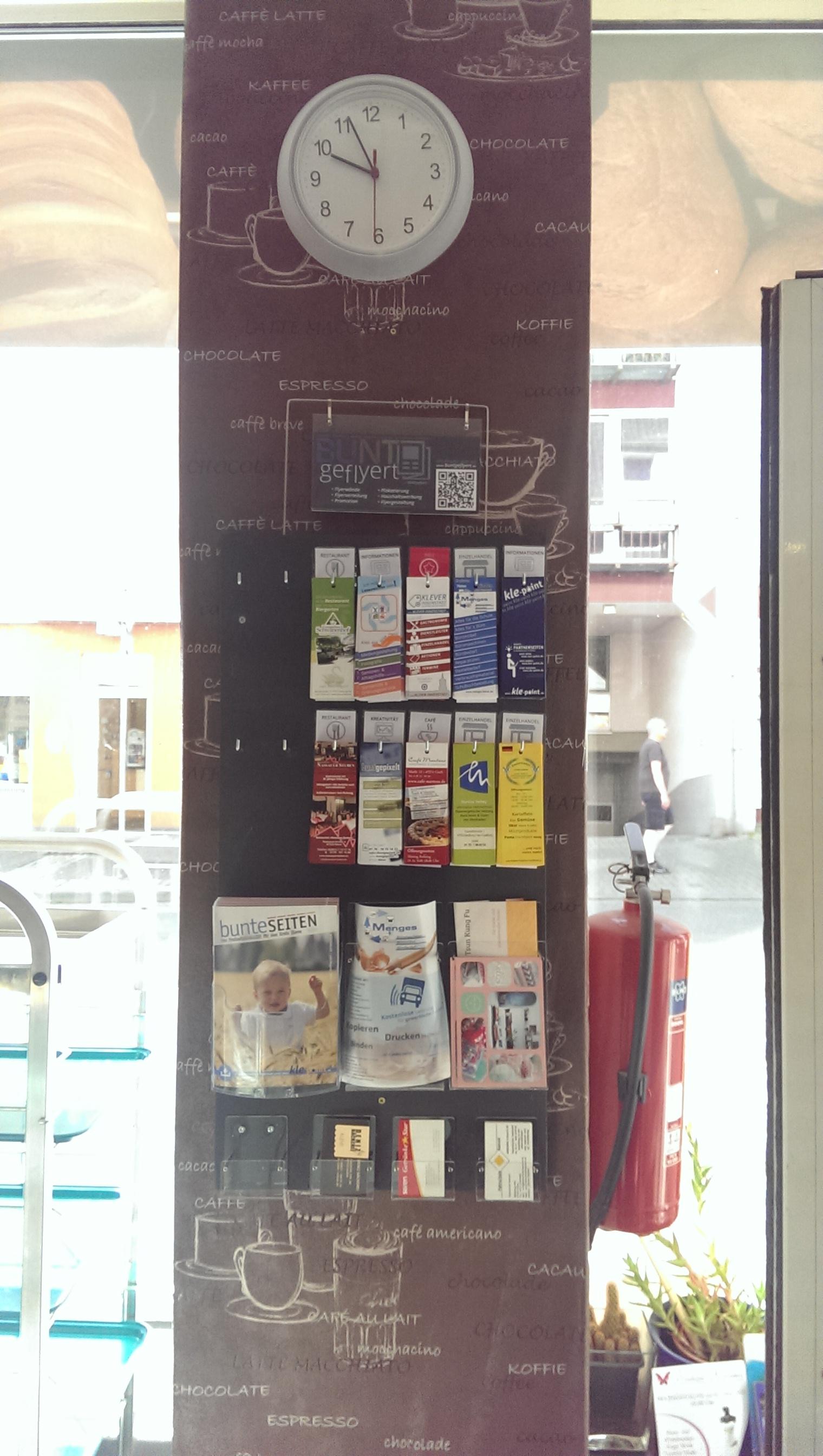 FLYERWAND: Deniz Bäckerei, Kleve